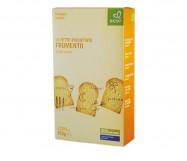 fette biscottate bio semintegrali gr.400 ecor