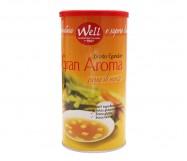 BRODO WELL CARNE GRAN AROMA KG.1 S/GLUTAMMATO
