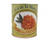 FAGIOLI ALLA CACCIATORA GR.800 CA'DE LA MARCA