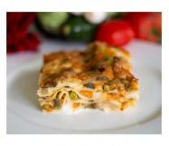 lasagne di verdure cotte KG.2,4 ZG