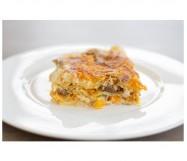 lasagne di zucca porcini e asiago cotte KG.2,6 ZG