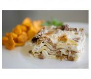 lasagne di finferli e asiago cotte Kg.2,6 ZG