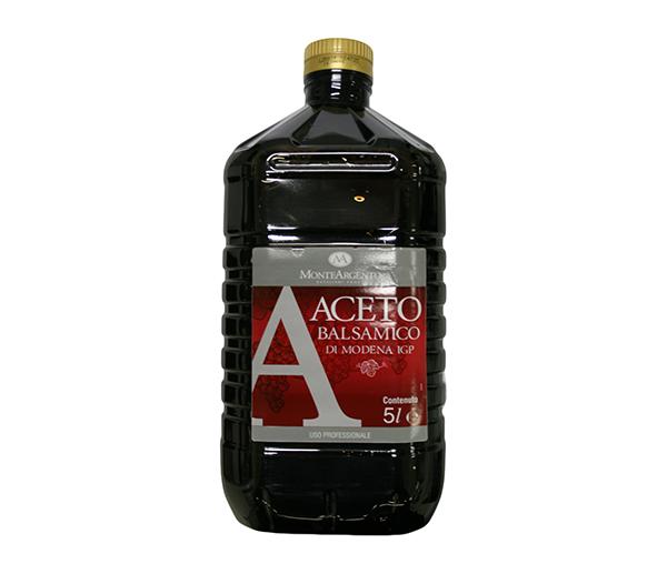 ACETO BALSAMICO LT.5 PET MONTEARGENTO
